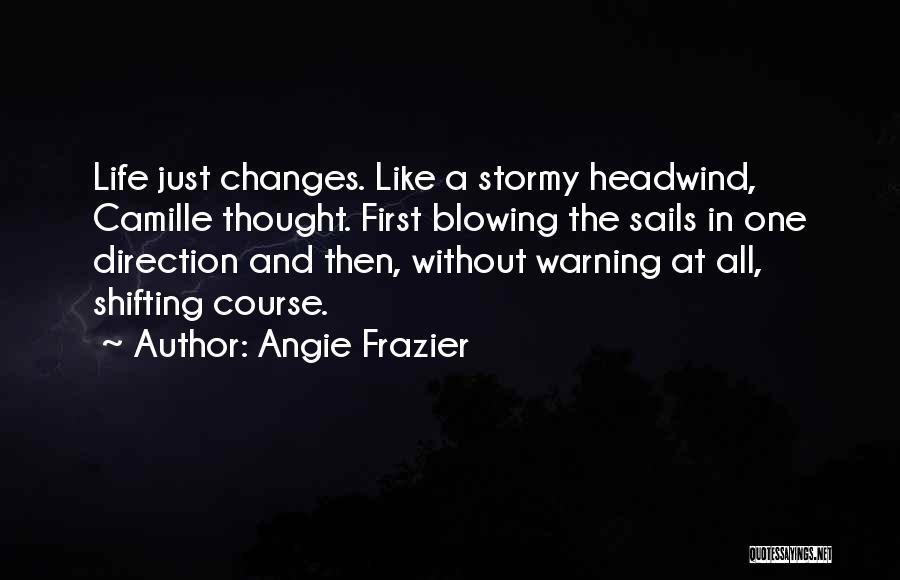 Stormy Life Quotes By Angie Frazier