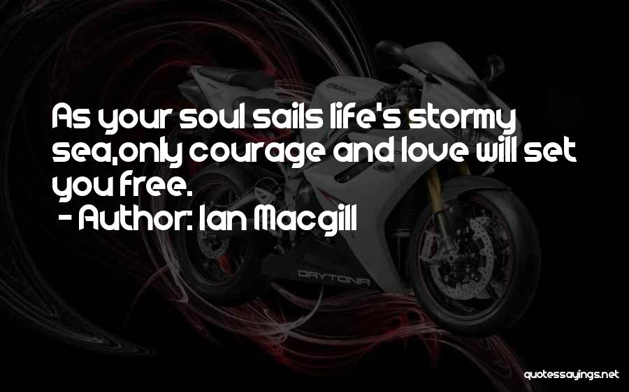 Stormy Life Quotes By Ian Macgill