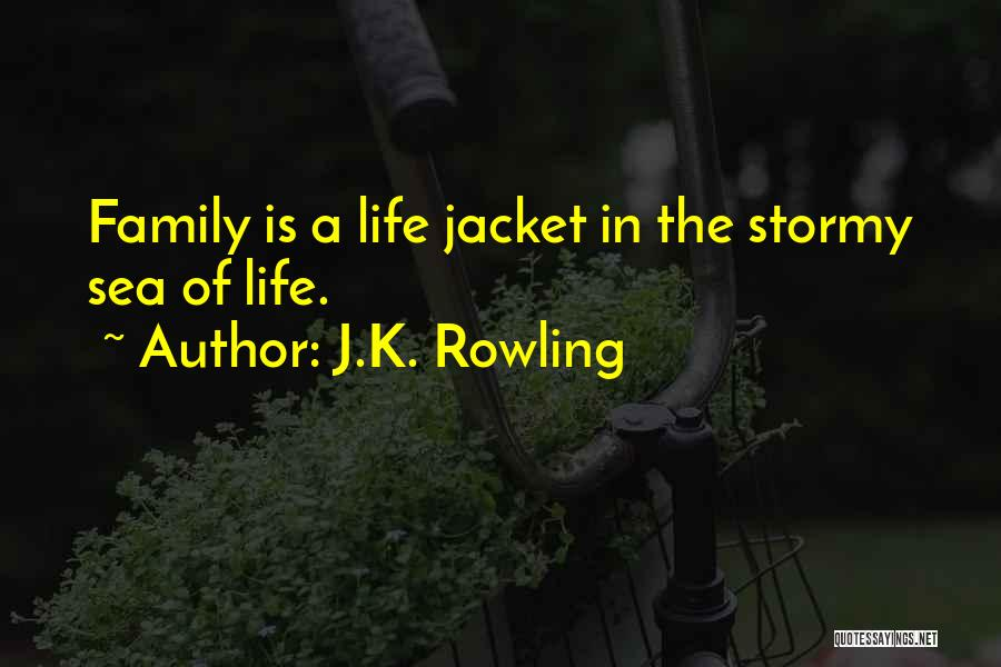 Stormy Life Quotes By J.K. Rowling