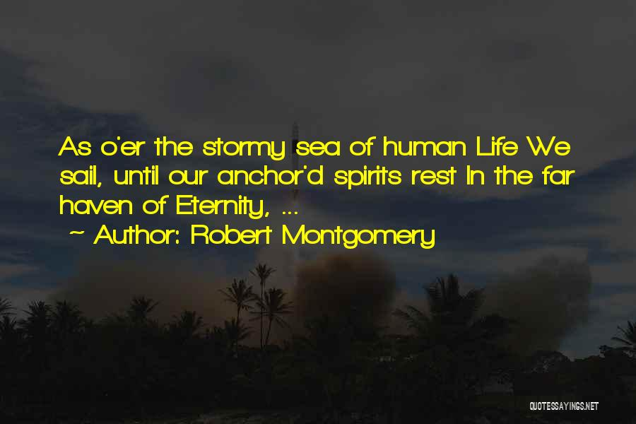 Stormy Life Quotes By Robert Montgomery