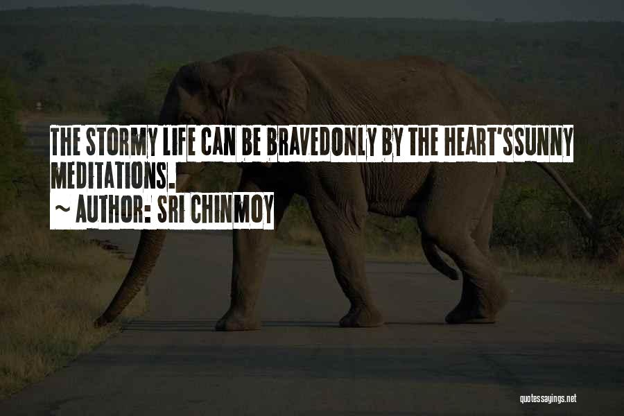 Stormy Life Quotes By Sri Chinmoy