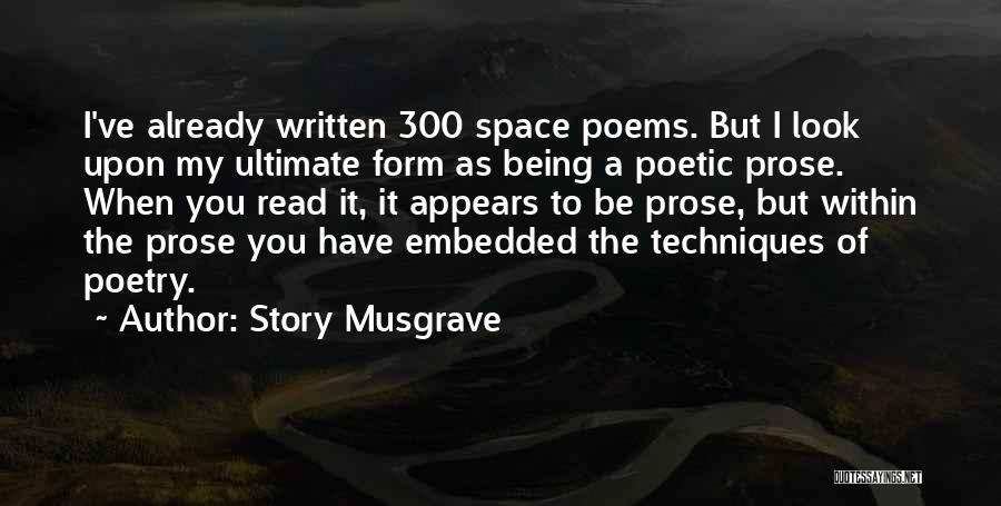 Story Musgrave Quotes 1312382