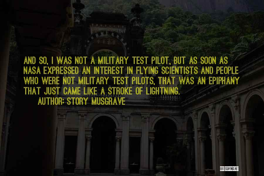 Story Musgrave Quotes 1435751