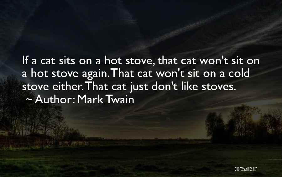 Stoves Quotes By Mark Twain