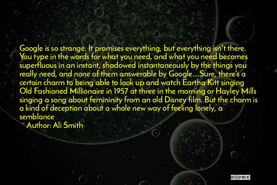Strange Beauty Quotes By Ali Smith