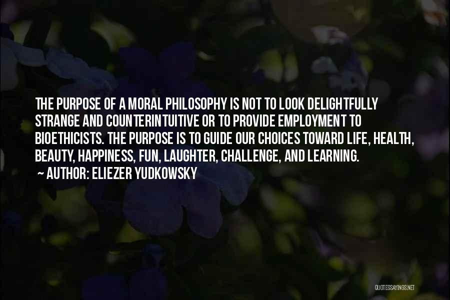 Strange Beauty Quotes By Eliezer Yudkowsky
