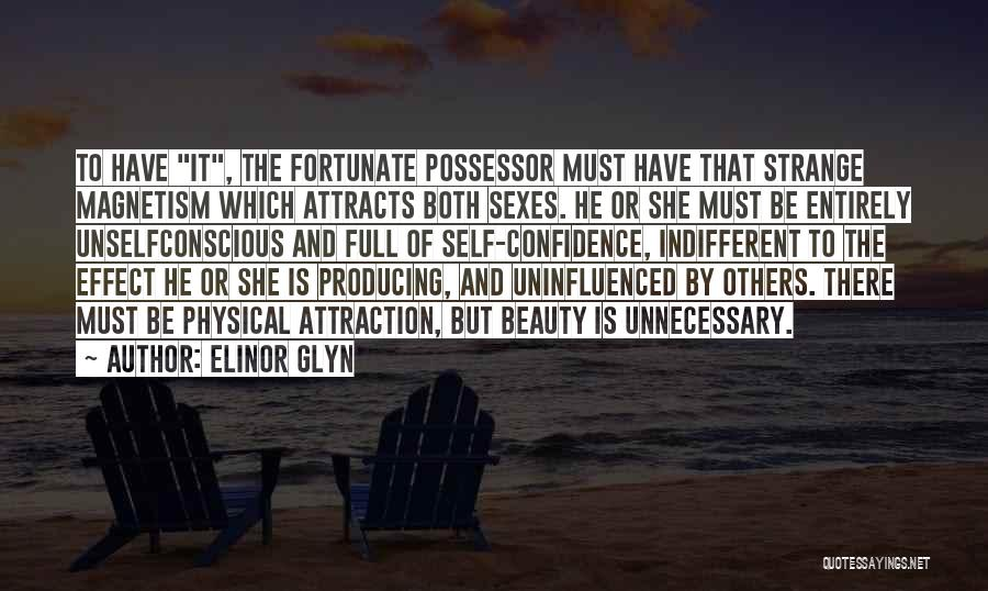 Strange Beauty Quotes By Elinor Glyn