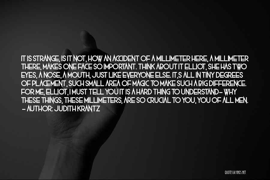 Strange Beauty Quotes By Judith Krantz