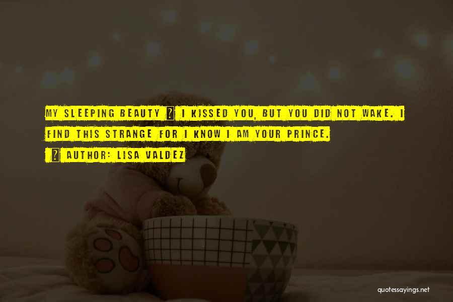 Strange Beauty Quotes By Lisa Valdez