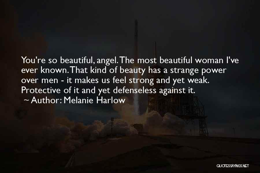 Strange Beauty Quotes By Melanie Harlow