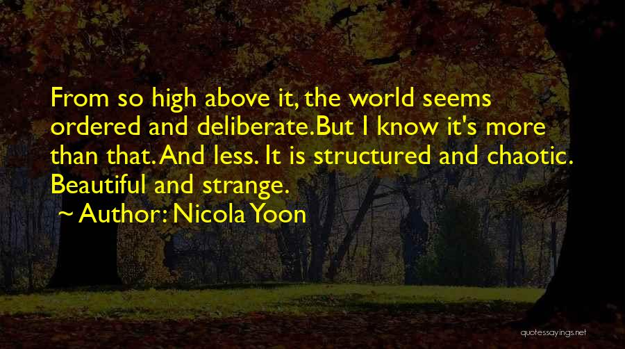 Strange Beauty Quotes By Nicola Yoon
