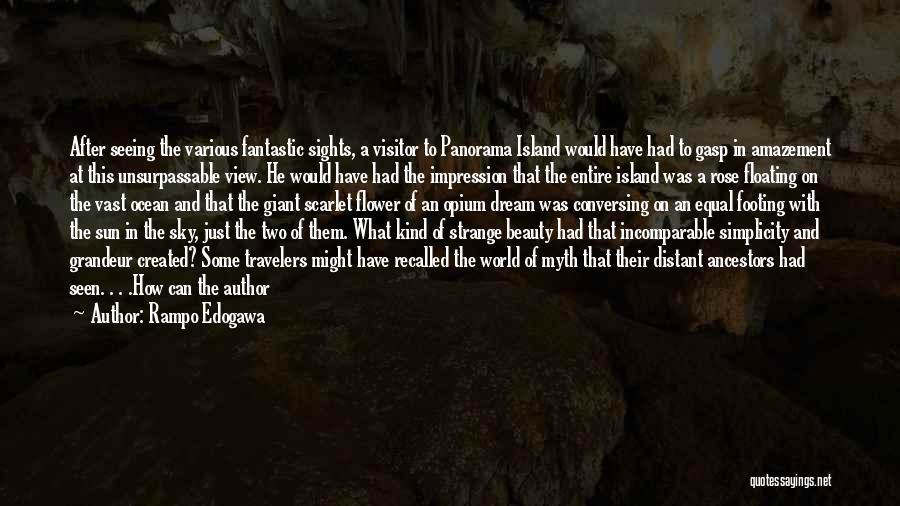 Strange Beauty Quotes By Rampo Edogawa