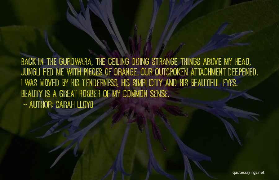 Strange Beauty Quotes By Sarah Lloyd
