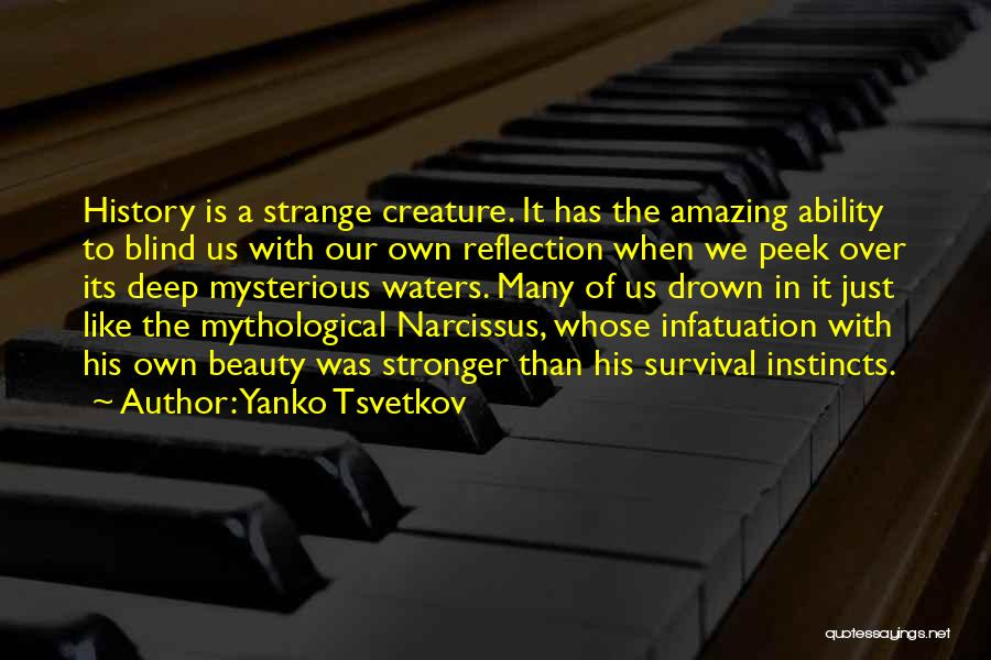Strange Beauty Quotes By Yanko Tsvetkov