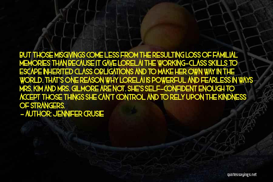Strangers Kindness Quotes By Jennifer Crusie