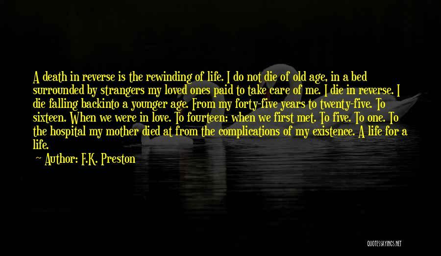 Strangers We Met Quotes By F.K. Preston