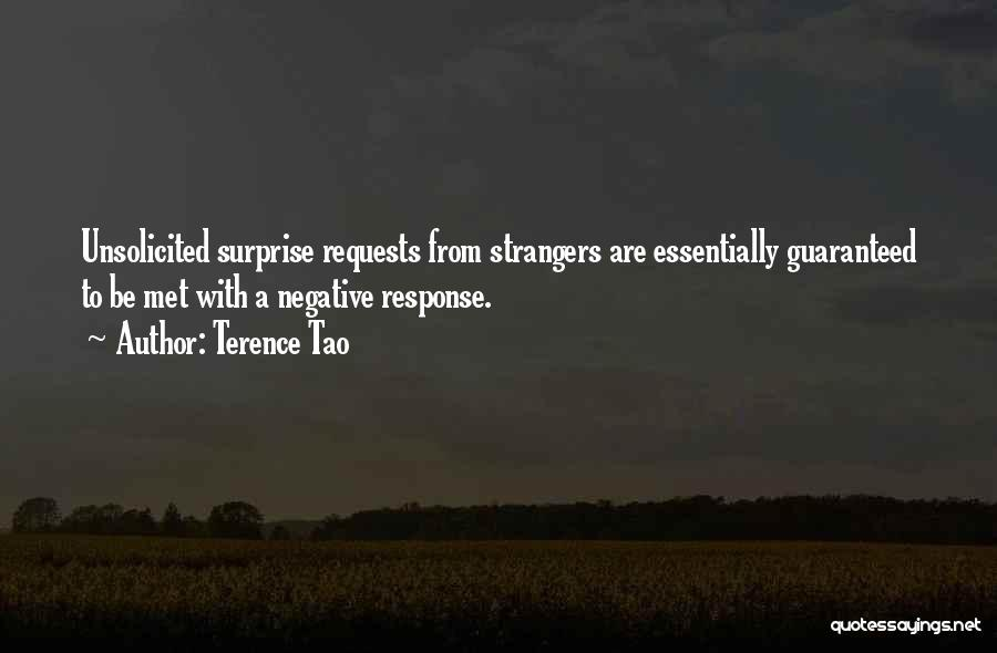 Strangers We Met Quotes By Terence Tao