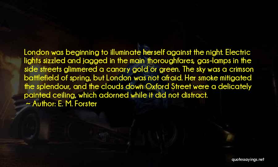 Streets Of London Quotes By E. M. Forster