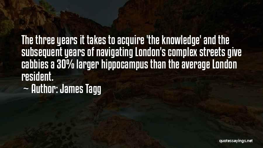 Streets Of London Quotes By James Tagg
