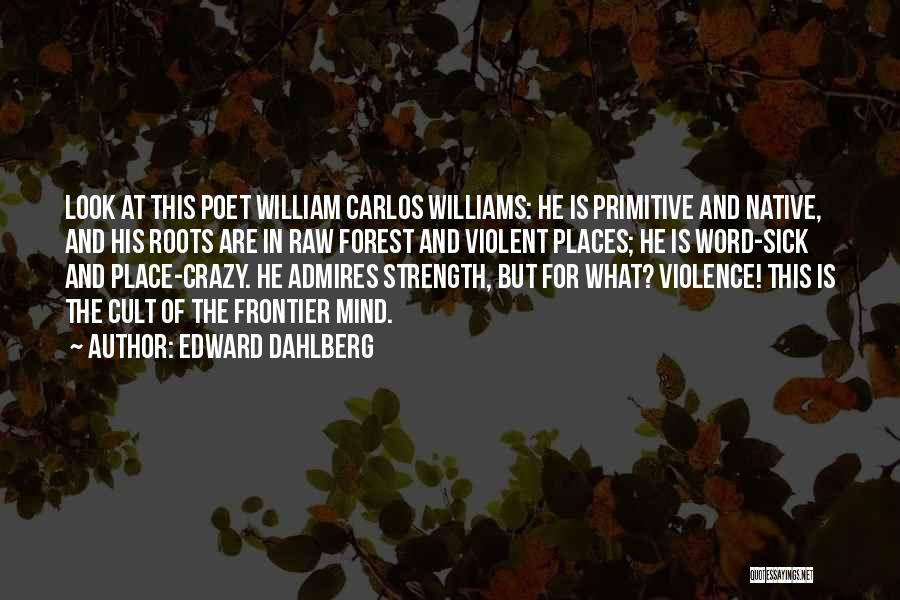 Strength For The Sick Quotes By Edward Dahlberg