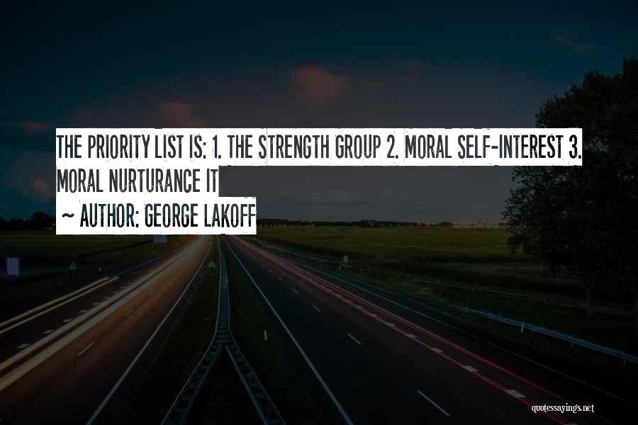 Strength In Group Quotes By George Lakoff