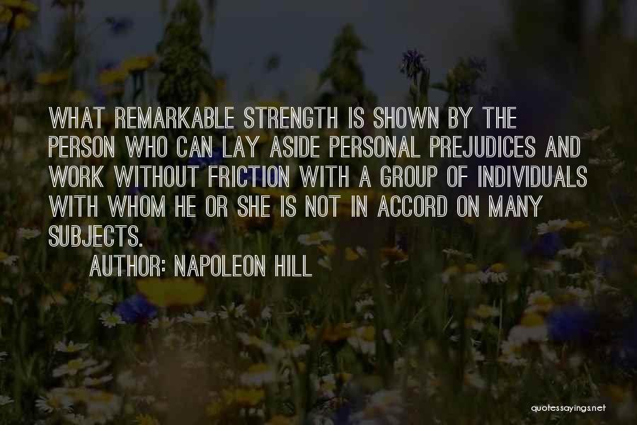 Strength In Group Quotes By Napoleon Hill
