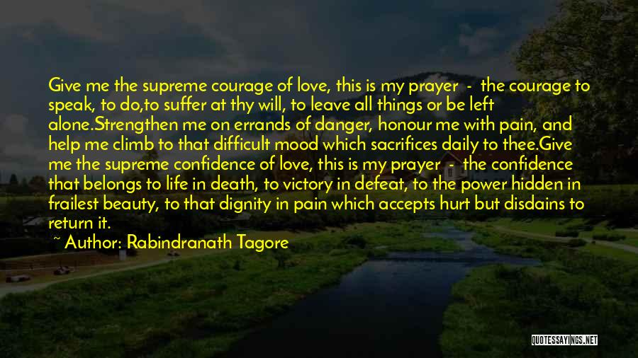 Strengthen Me Quotes By Rabindranath Tagore