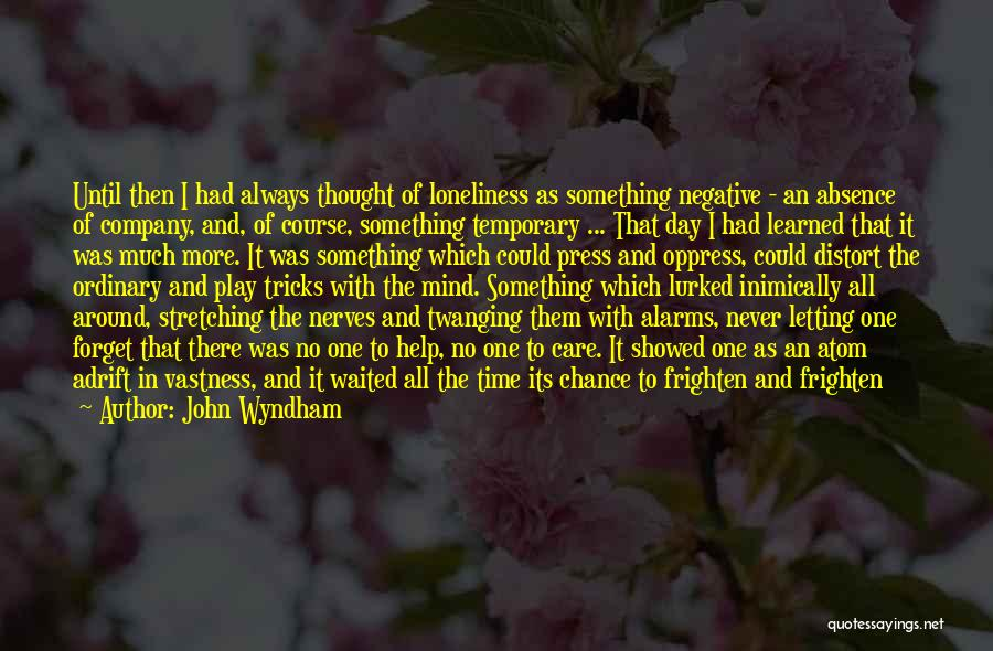 Stretching The Mind Quotes By John Wyndham