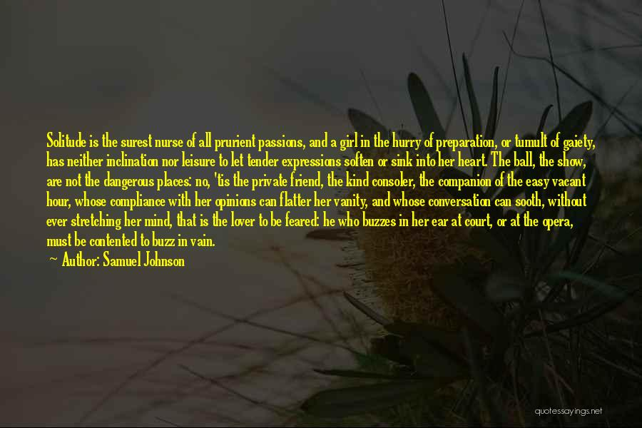 Stretching The Mind Quotes By Samuel Johnson