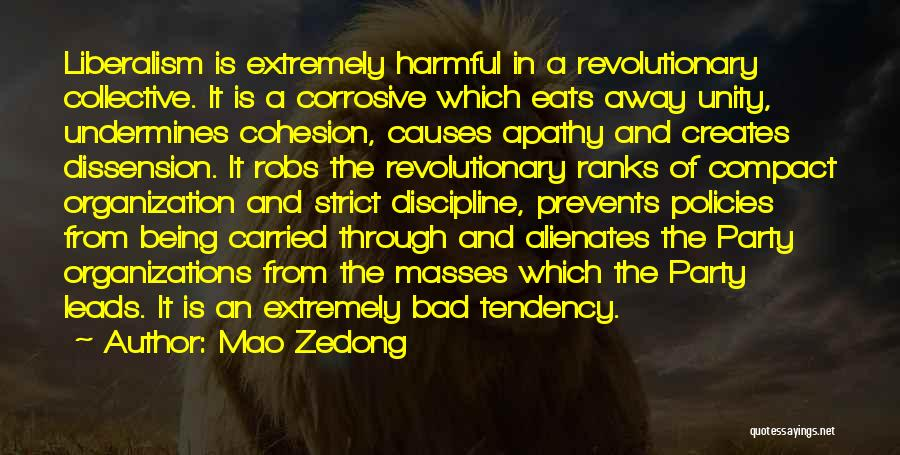 Strict Discipline Quotes By Mao Zedong