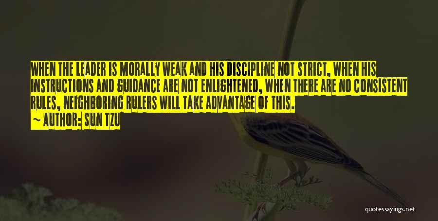 Strict Discipline Quotes By Sun Tzu