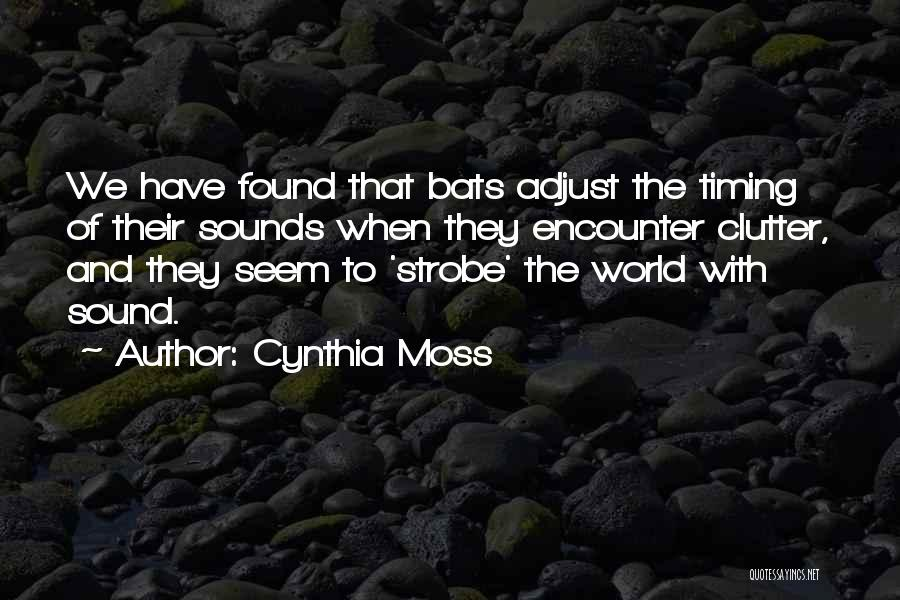 Strobe Quotes By Cynthia Moss