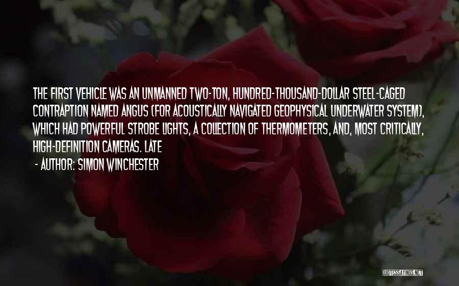 Strobe Quotes By Simon Winchester