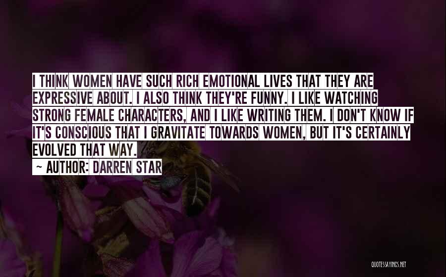 Strong And Emotional Quotes By Darren Star