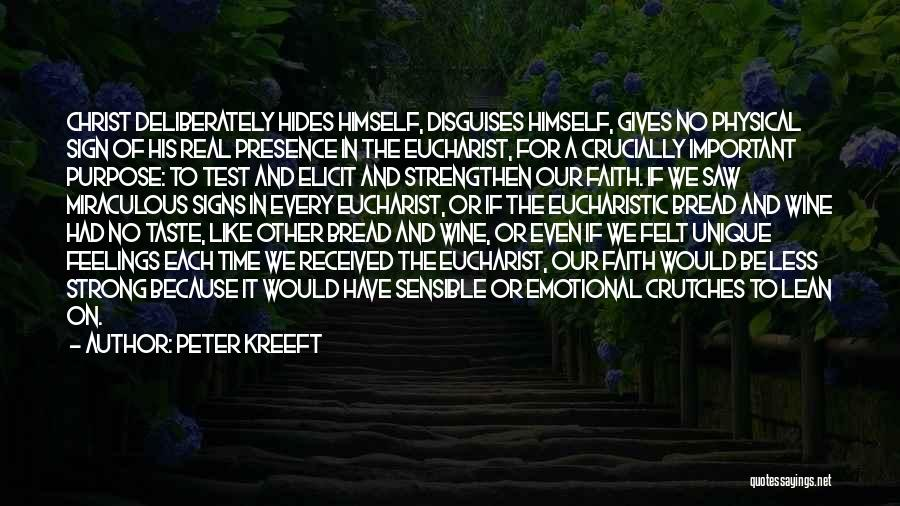 Strong And Emotional Quotes By Peter Kreeft