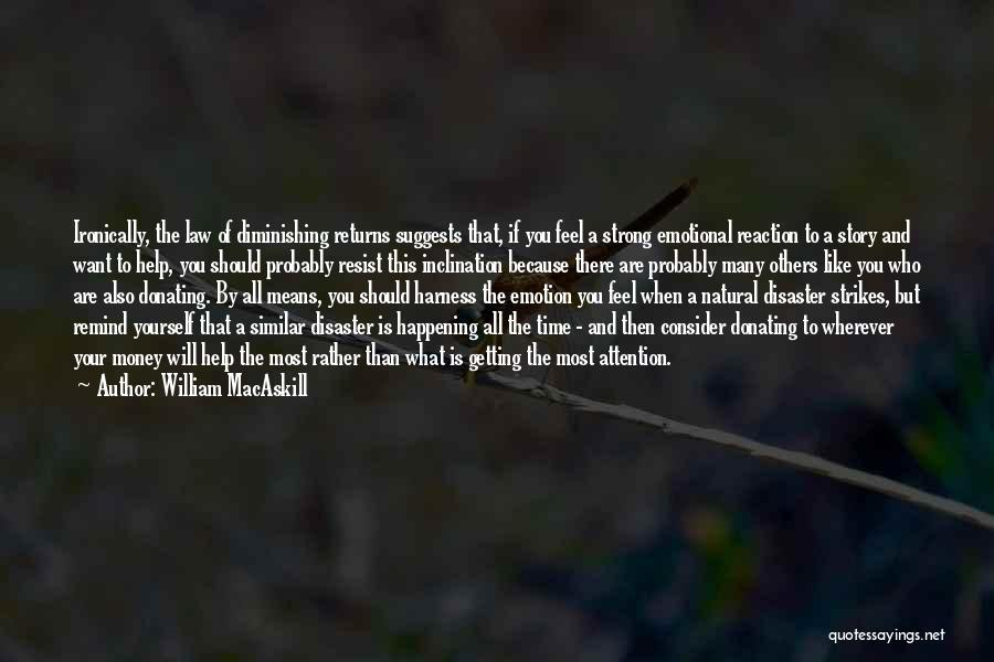Strong And Emotional Quotes By William MacAskill