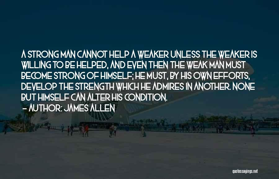 Strong And Motivational Quotes By James Allen