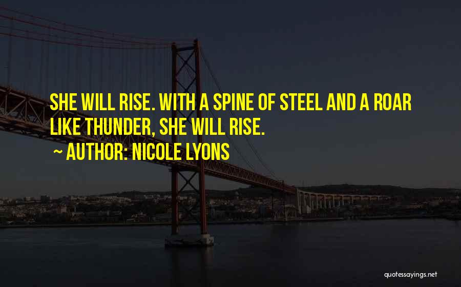 Strong And Motivational Quotes By Nicole Lyons