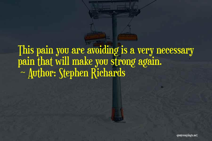 Strong And Motivational Quotes By Stephen Richards