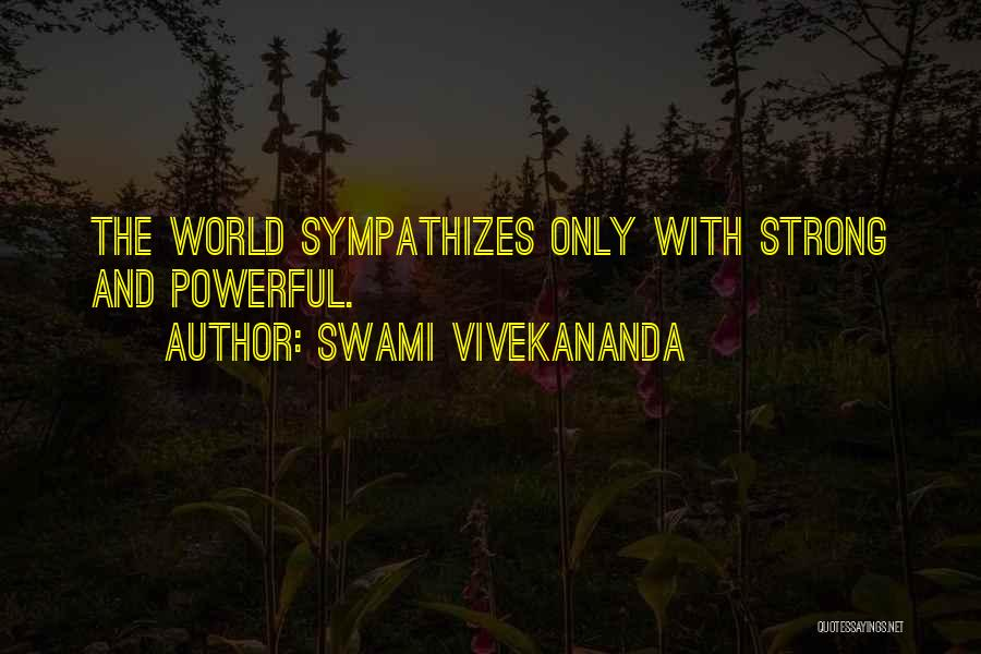 Strong And Motivational Quotes By Swami Vivekananda