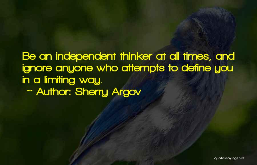 Strong Independent Woman Quotes By Sherry Argov