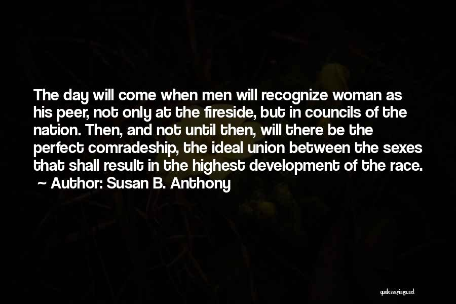 Strong Independent Woman Quotes By Susan B. Anthony
