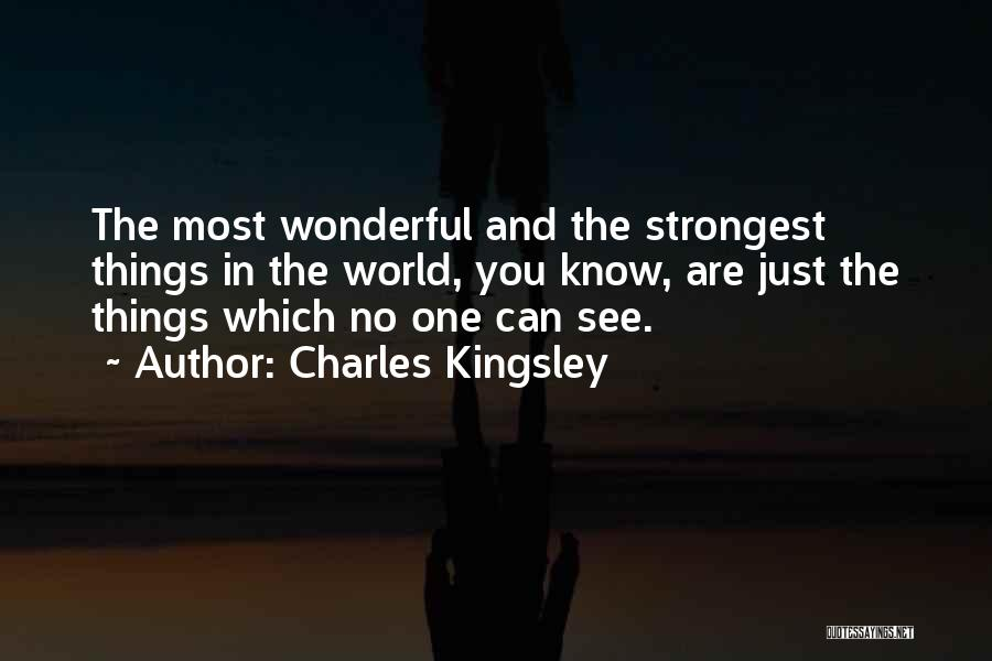 Strongest Inspirational Quotes By Charles Kingsley