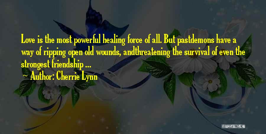 Strongest Inspirational Quotes By Cherrie Lynn
