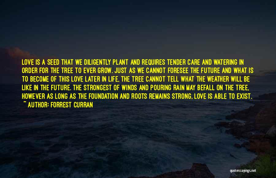 Strongest Inspirational Quotes By Forrest Curran