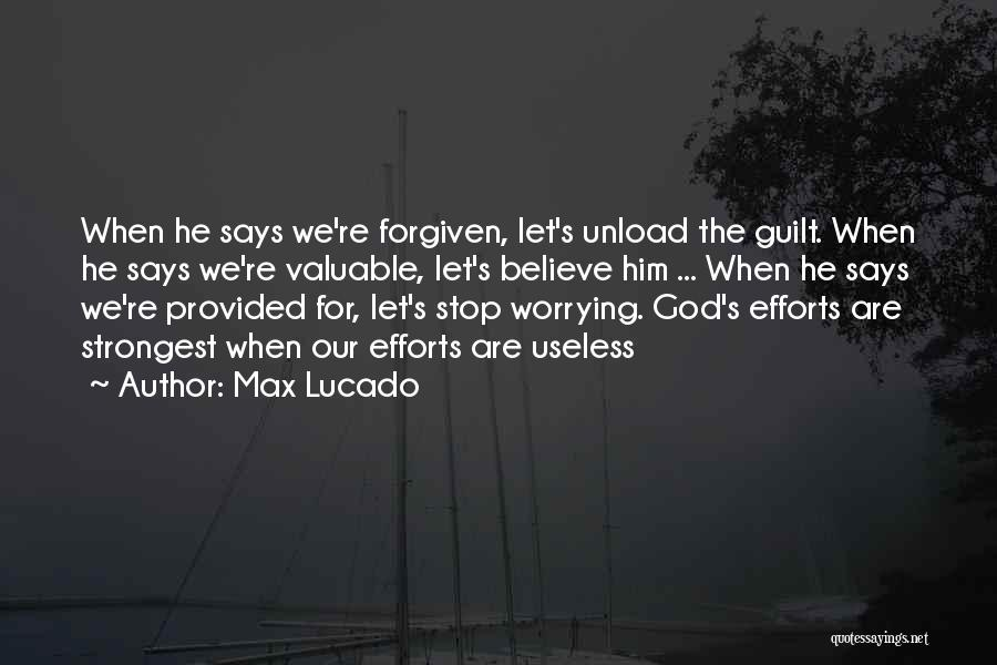 Strongest Inspirational Quotes By Max Lucado
