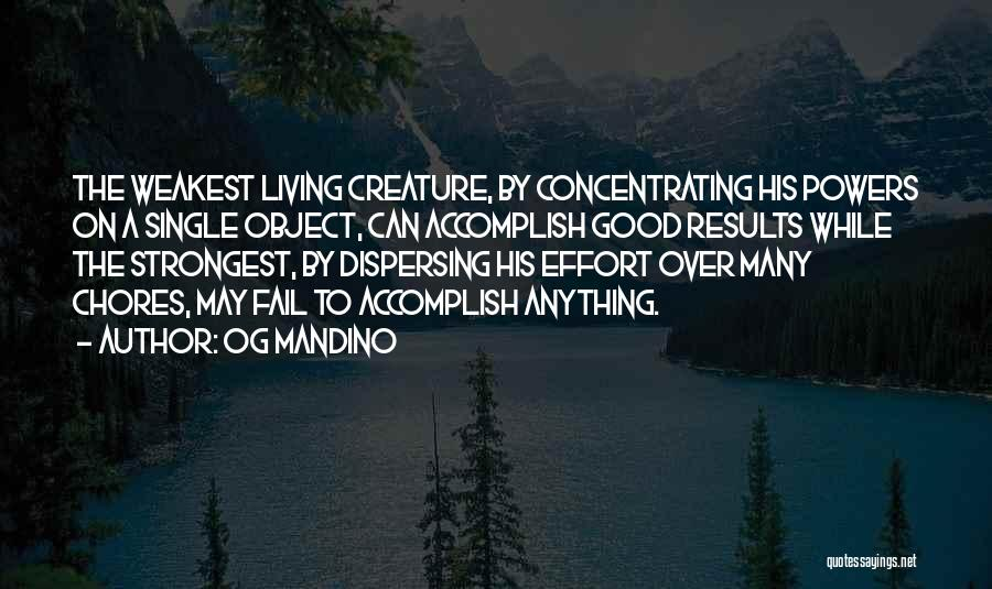 Strongest Inspirational Quotes By Og Mandino