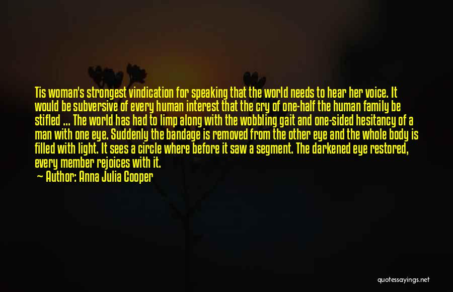 Strongest Woman Quotes By Anna Julia Cooper
