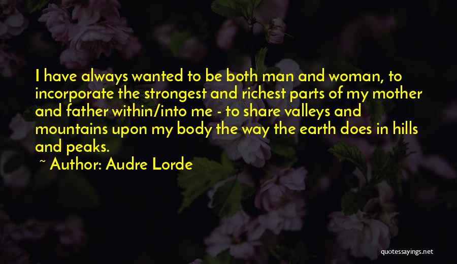 Strongest Woman Quotes By Audre Lorde