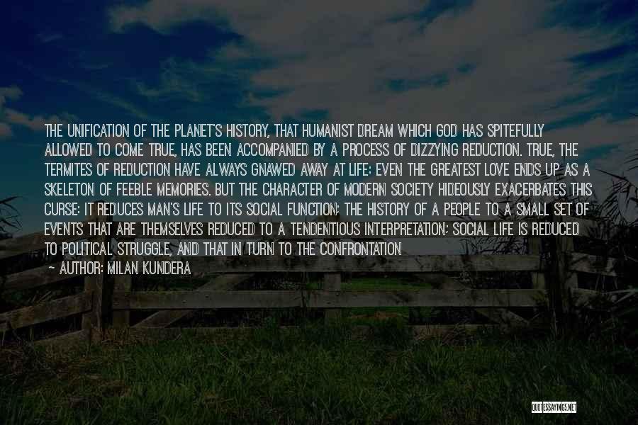 Struggle And Character Quotes By Milan Kundera
